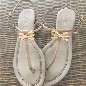 Kate Spade sandal size 81/2 cream